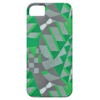 Green gray 1920s Deco design iPhone 5/5S Cover