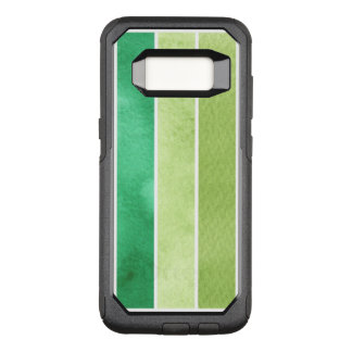green great watercolor background - watercolor OtterBox commuter samsung galaxy s8 case