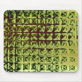Green grid mousepads