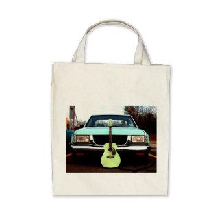 Green Guitar & Car Bags