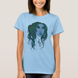 green hair and ice cream T-Shirt