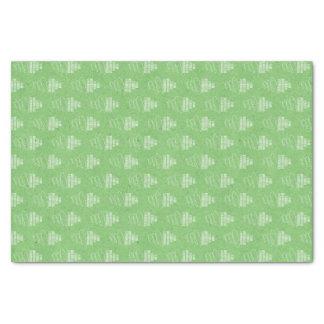 Green Happy Birthday Tissue Paper