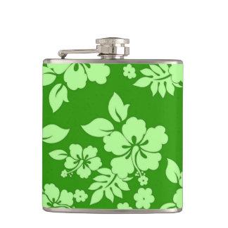 Green Hawaiian Flasks
