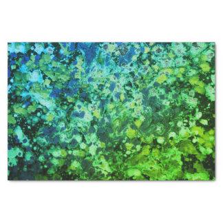 Green Haze Tissue Paper