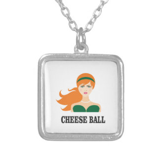 green head band girls silver plated necklace