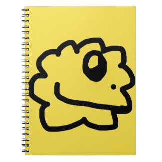 Green Healthy Yellow Notebook