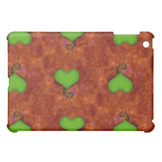 Green Heart iPad Case