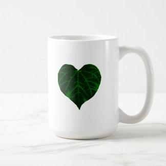 Green Heart Leaf Mug