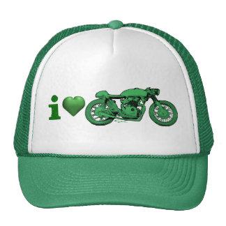 Green Heart - Valentine's - St. Patrick's Day Cap