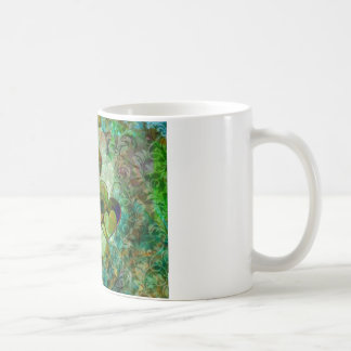 Green Hearts Coffee Mugs