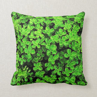 Green Hedge - Flower Surface Texture Cushion