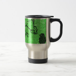 Green Hen Travel Mug