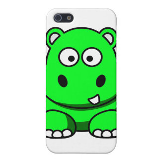 Green Hippo Case Case For The iPhone 5