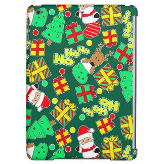 Green - Ho Ho Santa iPad Air Case