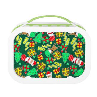 Green - Ho Ho Santa Lunch Box