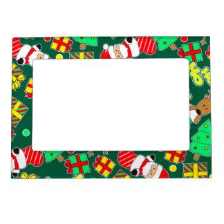 Green - Ho Ho Santa Magnetic Frame
