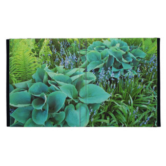 Green hosta plants garden ipad mini cover iPad cases