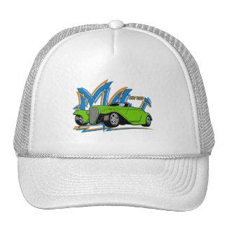 Green Hot Rod Hat