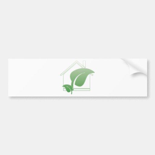 green house bumper sticker