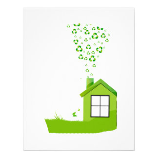 green house with recycle sign smoke eco design.png announcement