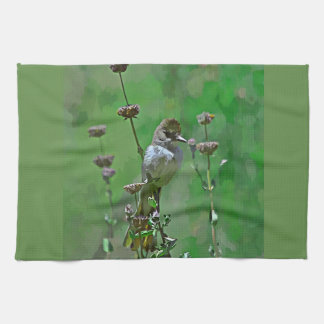 Green Hummer Kitchen Towel