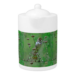 Green Hummer Medium Tea Pot