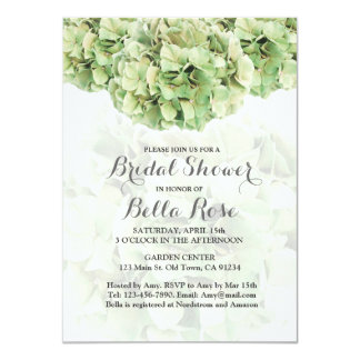 Green Hydrangea Bridal Shower invites hydrangea2