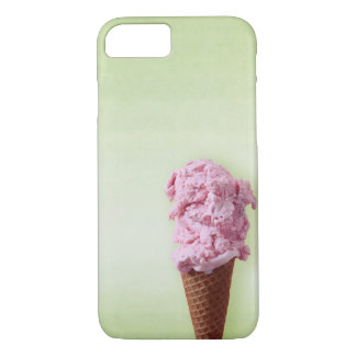 Green Ice Cream Pink - Fun - iPhone 7 iPhone 7 Case
