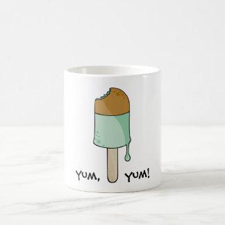 Green Ice cream, yum,     yum! Mug