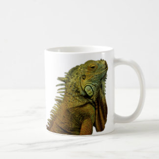 Green Iguana Coffee Mug