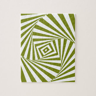 green illusion jigsaw puzzle
