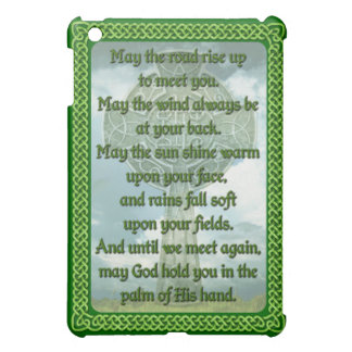 Green Irish Blessing Cover For The iPad Mini