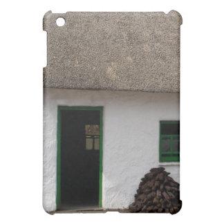 Green Irish Cottage with Turf iPad Mini Covers
