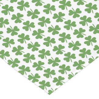 Green Irish Shamrocks Pattern