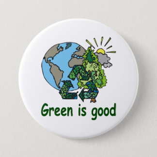 Green is Good Button