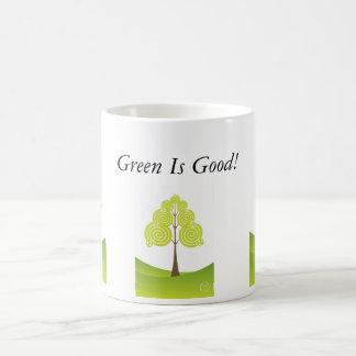 Green Is Good Eco Tree Mug