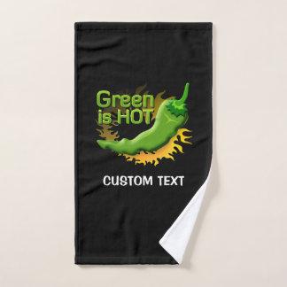 Green is HOT Bath Towel Set