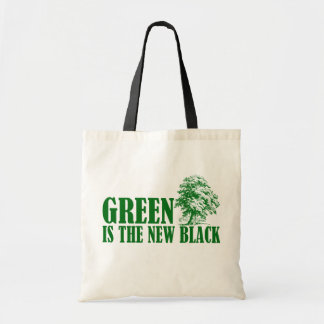 Green Is The New Black Tote Bag