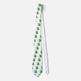 Green Is The Wofd Tie