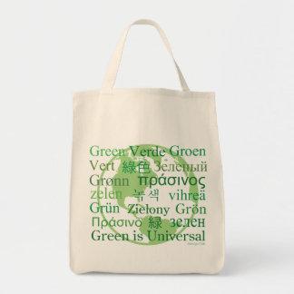 Green Is Universal Organic Tote bag