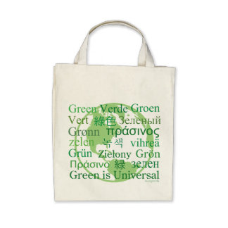 Green Is Universal Organic Tote bag