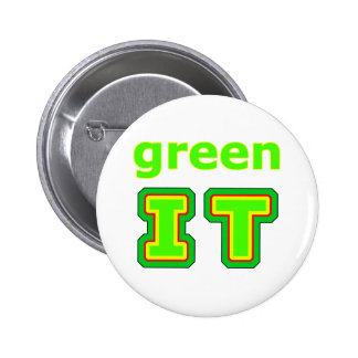 green IT The MUSEUM gibsphotoart Pin