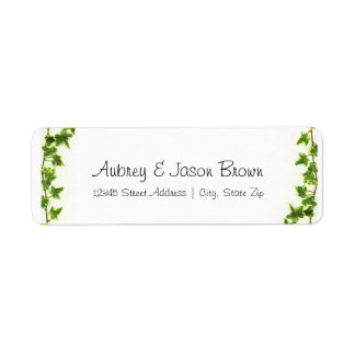 Green Ivy - Address Labels
