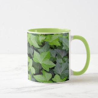 Green Ivy Botanical Print Mug
