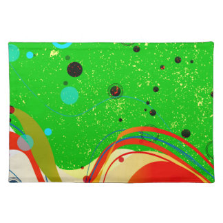 Green Jazz Background Placemat