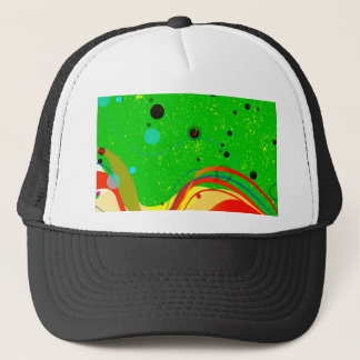 Green Jazz Background Trucker Hat