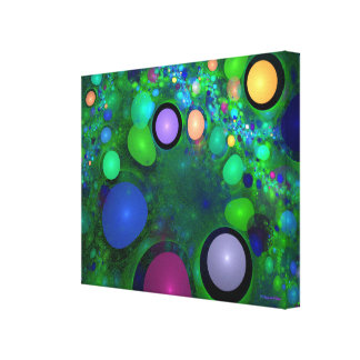 """Green Jelly Beans"" Custom Art by Christopher Pete Canvas Print"