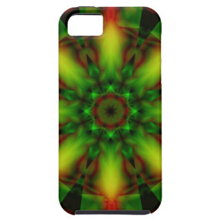 Green Journey into the Abstract iPhone 5 Case