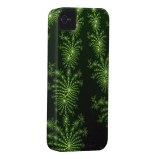 Green Julia Fractal Mandelbrot Art iPhone 4 Case