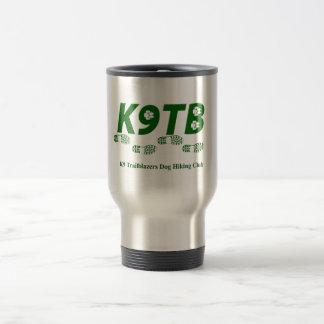 Green K9TB Logo Travel Mug